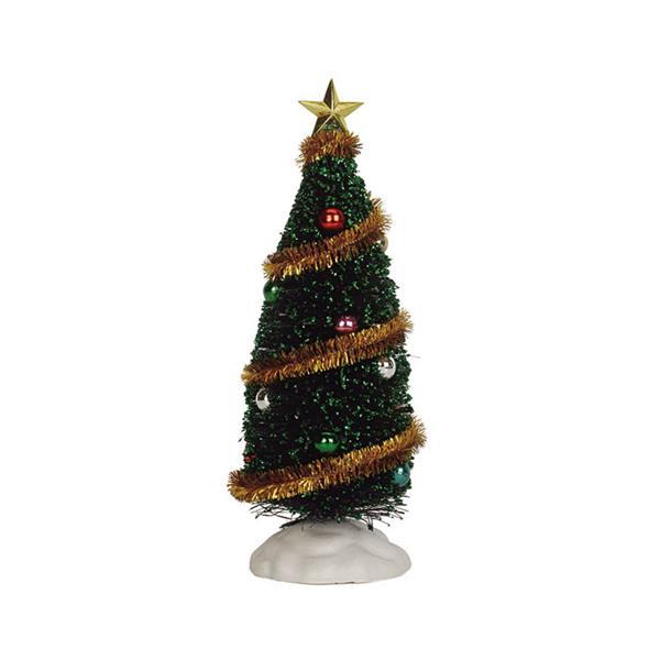 LEMAX - Sparkling Green Christmas Tree / Large
