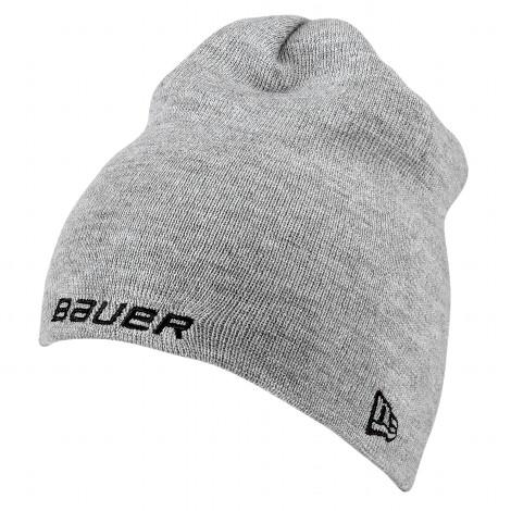 BAUER / NEW ERA Knit Togue Grau OSFA