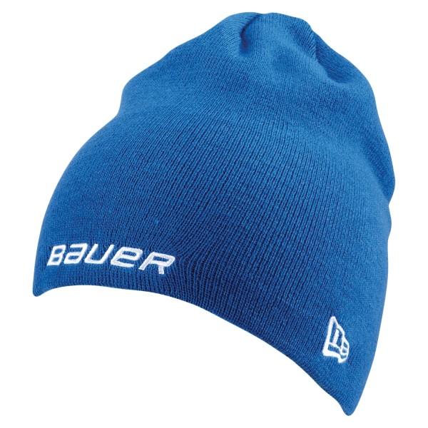 BAUER / NEW ERA Knit Togue Blau OSFA