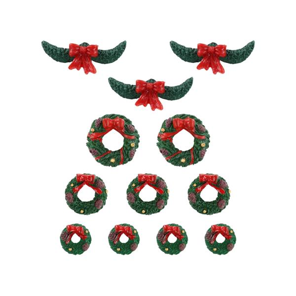 LEMAX - Garland and Wreaths