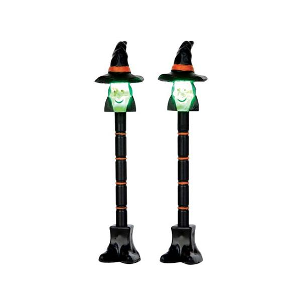 LEMAX - Witch Lamp Post