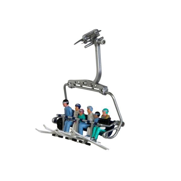 JC 6 FIGUREN sitzend m. HEAD Ski 54200