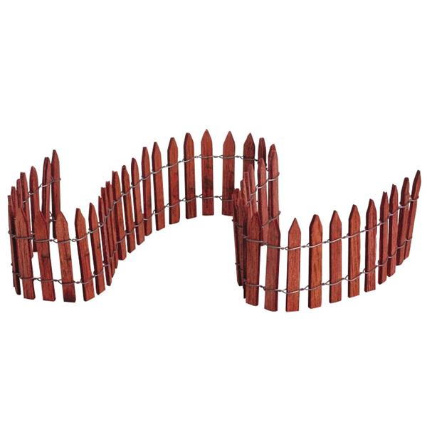 LEMAX - Wired Wooden Fence