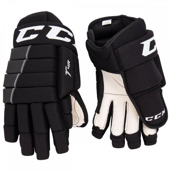CCM Handschuh 4R III Junior Schwarz