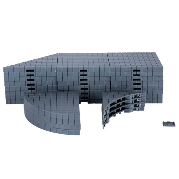 LEMAX - Plaza System 32 Pieces ( Grey-Variety )
