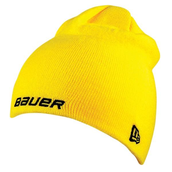 BAUER / NEW ERA Knit Togue Gelb OSFA
